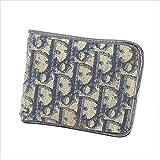 ディオール Dior 二つ折り財布 ユニセックス トロッター 中古 L1329