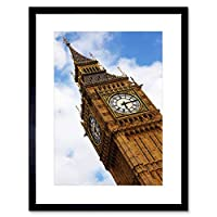 Architectural Cultural Landscape Icon Big Ben London Framed Wall Art Print 文化風景ロンドン壁
