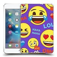 オフィシャル emoji® ハッピー・フェイス フラット iPad mini 4 専用ハードバックケース