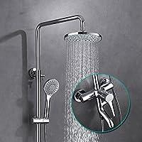 The Bath部屋シャワーシャワーfollowsシャワー銅、ステンレススチールブースターミキシングバルブ注ぎ口