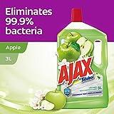 Ajax Fabuloso Floor Cleaner, Apple Fresh, 3L