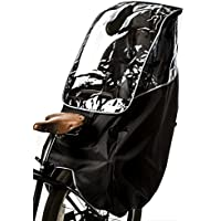 最新版 Active Winner 子供乗せ自転車 チャイルドシート レインカバー 自転車 後ろ 撥水加工 収納バッグ付