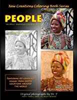 New Creations Coloring Book Series: People
