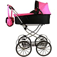My Sweet princess deluxe pram (32'' high) with FREE carriage bag [並行輸入品]