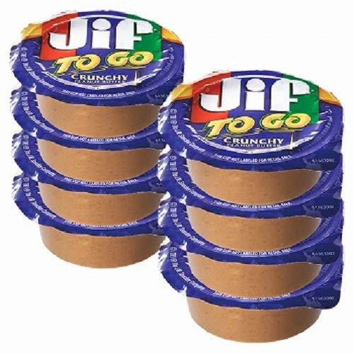 ジフ(Jif) ピーナッツバタークランチ 8個セット【アメリカ 海外土産 輸入食品 スイーツ】