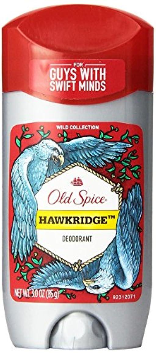 巻き戻す酸化するロープOld Spice (オールドスパイス) Wild Collection Deodorant デオドラント Hawkridge/ホークリッジ - 85g 3 oz [並行輸入品]