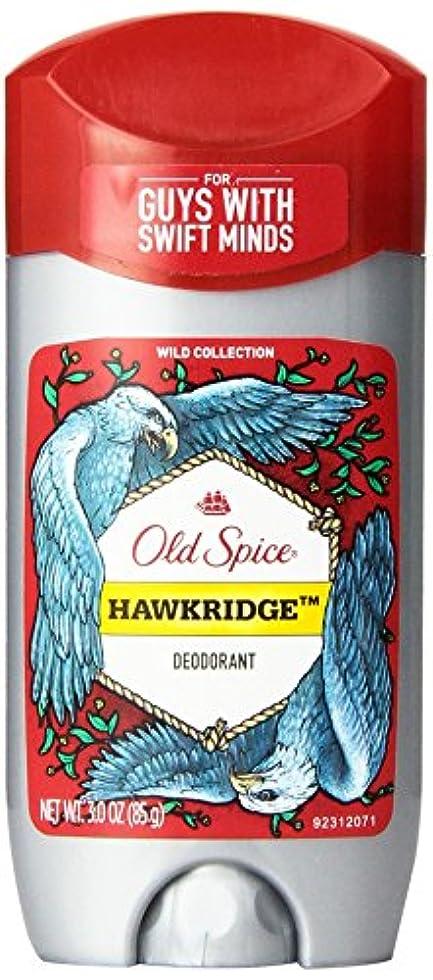 有力者半径作りOld Spice (オールドスパイス) Wild Collection Deodorant デオドラント Hawkridge/ホークリッジ - 85g 3 oz [並行輸入品]