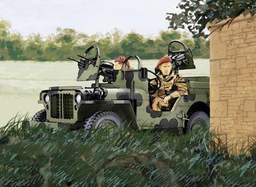 1/72 SASライダー4×4トラック 北西ヨーロッパ戦線1944