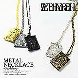 (ゼファレン)ZEPHYREN METAL NECKLACE -Guadalupe- zea2542 ANTIQUESILVER FREE