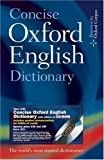 Concise Oxford English Dictionary: Dictionary and CD-ROM Set