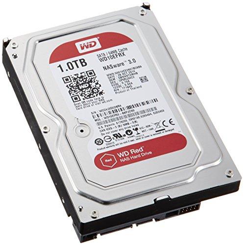 WD HDD 内蔵ハードディスク 3.5インチ 1TB Red WD10EFRX / IntelliPower / SATA 6Gb/s / 3年保証