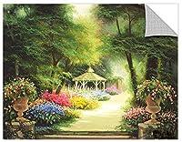 Tremont Hill Egidio Antonaccio ''Garden Gazebo'' Gallery Wrapped Canvas, 14X18 [並行輸入品]