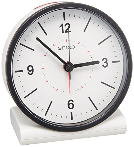 SEIKO CLOCK(セイコークロック) アナログ目覚まし時計 電波時計(白) KR328W KR328W