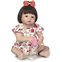 SanyDoll Rebornベビー人形ソフトSilicone 22インチ55 cm磁気Lovely Lifelike Cute Lovely Baby b0763kgpnb