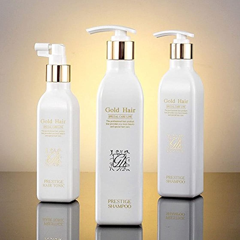 救急車旅行者恐れゴールドヘア育毛シャンプー2個&トニック1個 漢方シャンプー /Herbal Hair Loss Fast Regrowth Shampoo 100% Natural Patented Set of 3(2 shampoo...