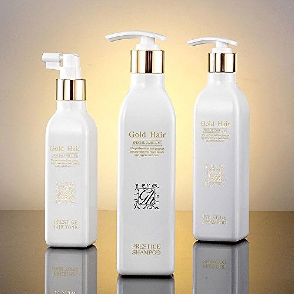 冗長手がかり然としたゴールドヘア育毛シャンプー2個&トニック1個 漢方シャンプー /Herbal Hair Loss Fast Regrowth Shampoo 100% Natural Patented Set of 3(2 shampoo...