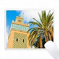 モロッコ、マラケシュのカスバモスク。 PC Mouse Pad パソコン マウスパッド