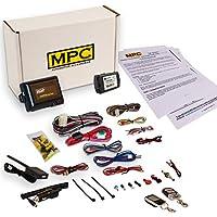 MPC コンプリート2ウェイLCDリモートスタートキット キーレスエントリー付き 2007-2009 ポンティアックトレント用 ファームウェアプリロード済み