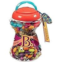 ブランド非ポップアーティ手作りアクセサリー 女の子 おもちゃ ブレスレット ネックレス (カラフルカラー)300pcs,ミニ作品集(海外直送品)