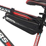 自転車 フレームバッグ トライアングル型 MOREZONE ロードバイク サドルバッグ ハンモック トップチューブバッグ