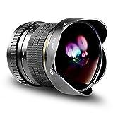 Neewer プロ8mm f/3.5非球面HD魚眼レンズ Nikon DSLR 8-8mmに対応【並行輸入品】