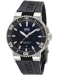 [ORIS]オリス 腕時計 アクイスデイト ブラック ラバー 733 7653 4154R メンズ 【正規輸入品】