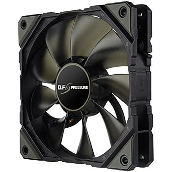 ENERMAX 12cm 冷却ファン D.F.プレッシャー PWM方式 高静圧 UCDFP12P