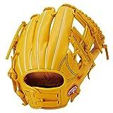 ローリングス(Rawlings) 野球用 ジュニア軟式 HYPER TECH R9 SERIES [オールラウンド用] サイズS GJ1R9G9S ゴールドタン サイズ S ※右投用