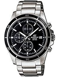 カシオ Casio EFR-526D-1AVUEF Mens Edifice Silver Steel Bracelet Watch 男性 メンズ 腕時計 【並行輸入品】