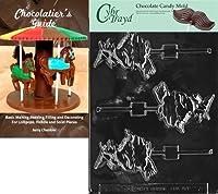 "Cybrtrayd Bk-H076""魔女のほうきロリー""ハロウィーンチョコレートキャンディ型 チョコレートガイド"