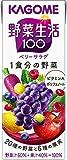 野菜生活100 紫の野菜 200ml ×24本