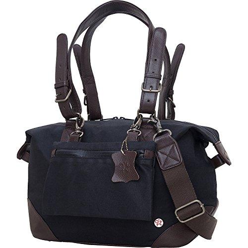 トーケン バッグ スーツケース Lafayette Waxed Duffel Bag (XS) Black [並行輸入品]