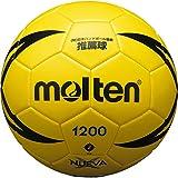 molten(モルテン) ハンドボール ヌエバX1200 2号 教材用 屋内専用 黄 H2X1200-Y