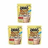【セット】 明治 ザバス ジュニアプロテイン ココア味 15食分 210g ×3個セット