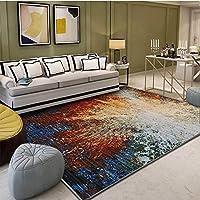 YETUGE-X ラグカーペット 絨毯カーペット 長方形 四角 客間カーペット リビングマット 洗える ラグ カーペット おしゃれ 洗える 滑り止め