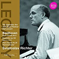 Beethoven: Piano Sonatas Nos. 3 & Bagatelles op.126, Nos. 1, 4 & 61
