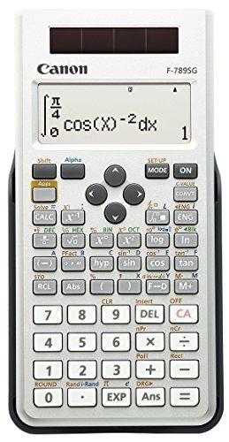 Canon 445関数電卓 F-789SG-SL 土地家屋調査士試験対応