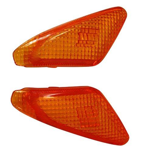 [해외]PFP (삐에후삐) 프론트 윙커 렌즈 좌우 세트 오렌지 조그 3KJ | 3RY | 3WF 1 세트/PFP (Pie Hupie) Front turn signal lens Left and right set Orange Jog 3 KJ | 3 RY | 3 WF 1 set