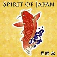 Spirit of Japan スクリーンクリーナーシール 昇鯉 レッド SJ-CS12