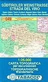 Strada Del Vino 049 GPS / Sudtiroler Weinstrasse 2011: TAB.049