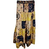 Womens Bohemian Skirt Patchwork Ethnic Printed Banjara Long Skirts