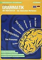 mindmemo Lernfolder - Grammatik - Die deutschen Wortarten - Zusammenfassung: genial-einfache Lernhilfe - PremiumEdition (foliert) - Din A4 6-seiter + selbstklebender Abhefter