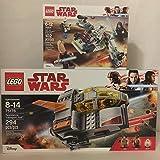 LEGO スターウォーズ レジスタンストランスポートポッド & レゴスターウォーズ ジェダイ&クローン・トルーパー バトルパック