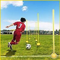 iimono117 トレーニングポール 自立式/サッカー ドリブル 練習 重り付 トレーニング用品 練習器具