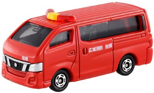 トミカ 027 日産 NV350キャラバン 消防指揮車