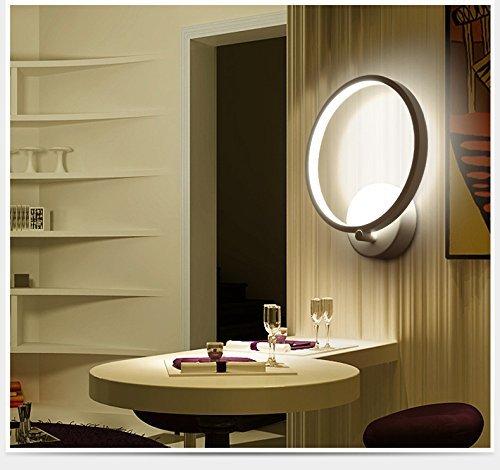 Lightess LED ウォールライト 壁掛け照明 led ブラケットライト 室内インテリア ベッドサイドランプ 廊下/寝室/階段照明 12W