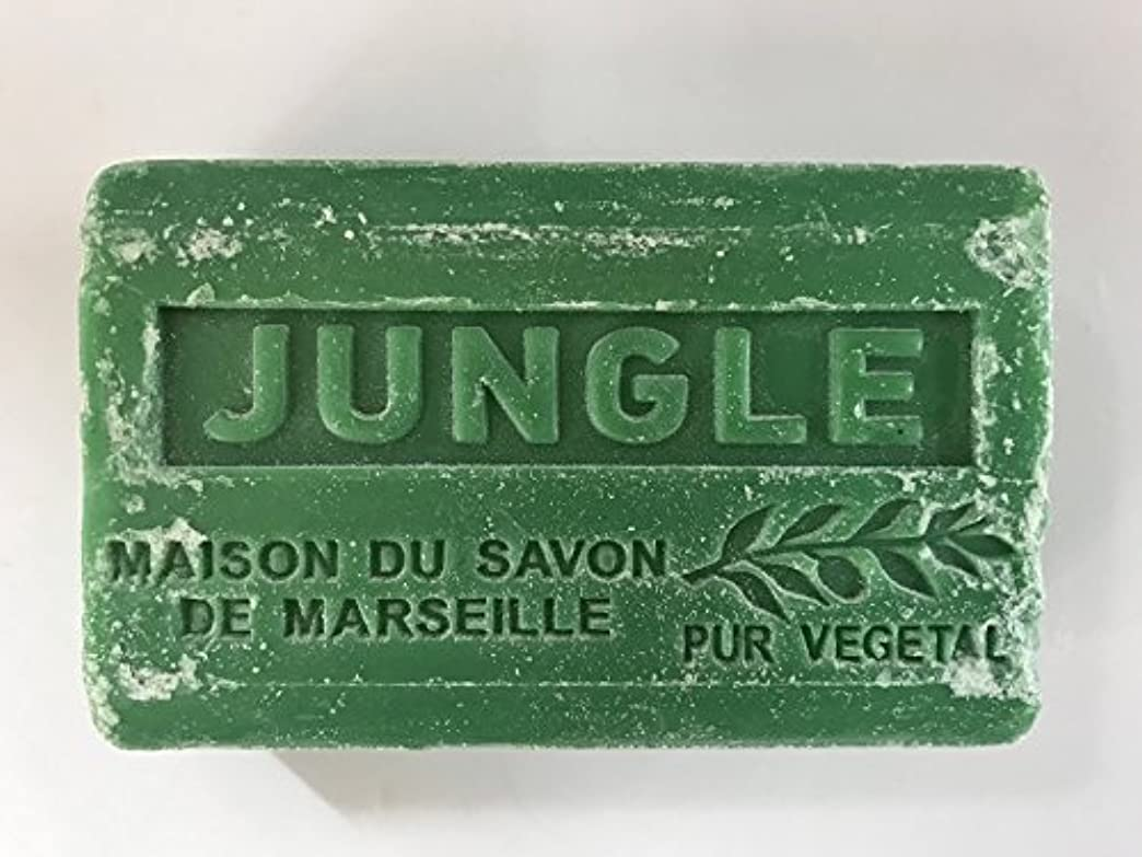 機関カッター隔離するSavon de Marseille Soap Jungle Shea Butter 125g