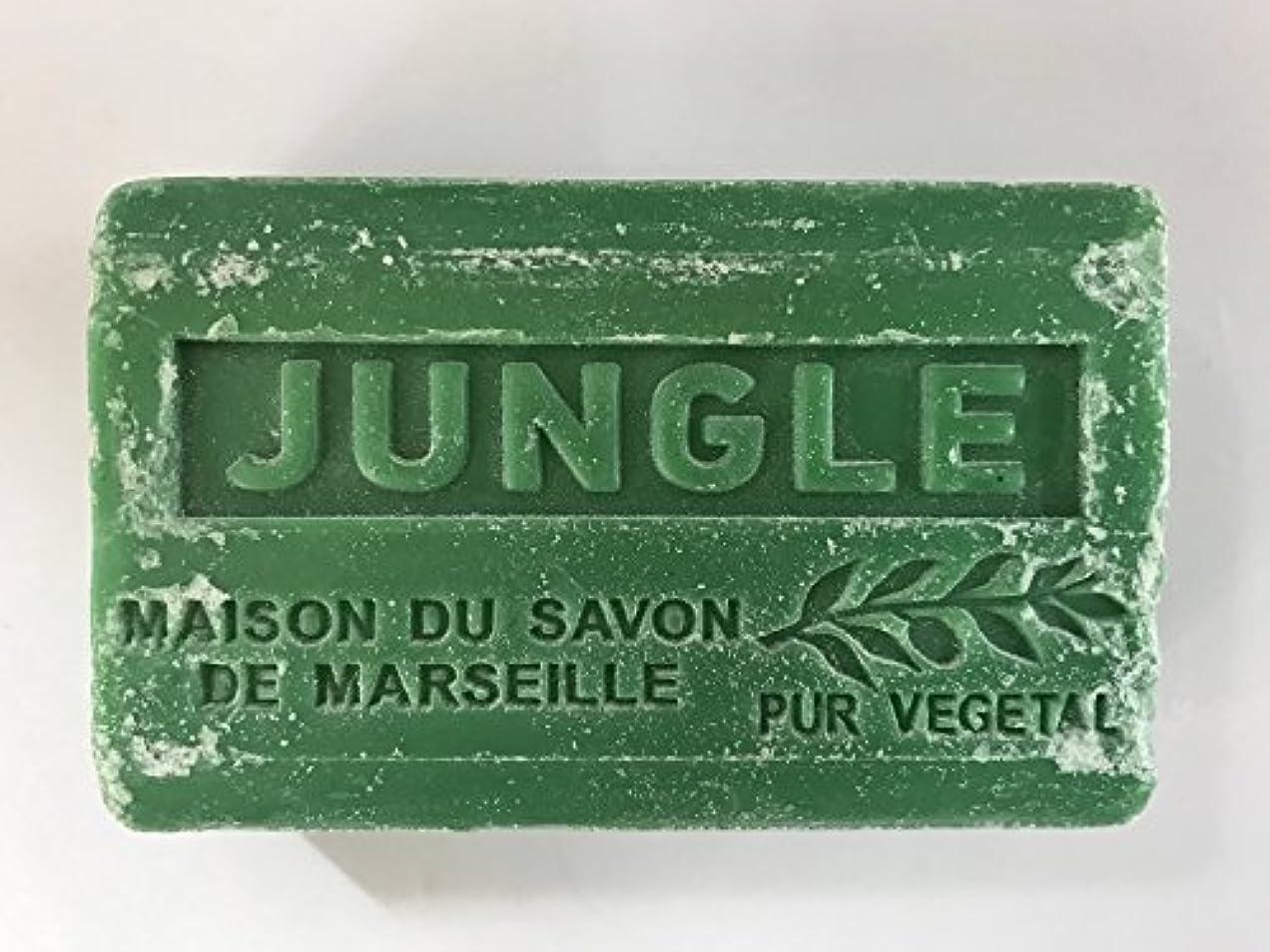 アート競合他社選手パッドSavon de Marseille Soap Jungle Shea Butter 125g