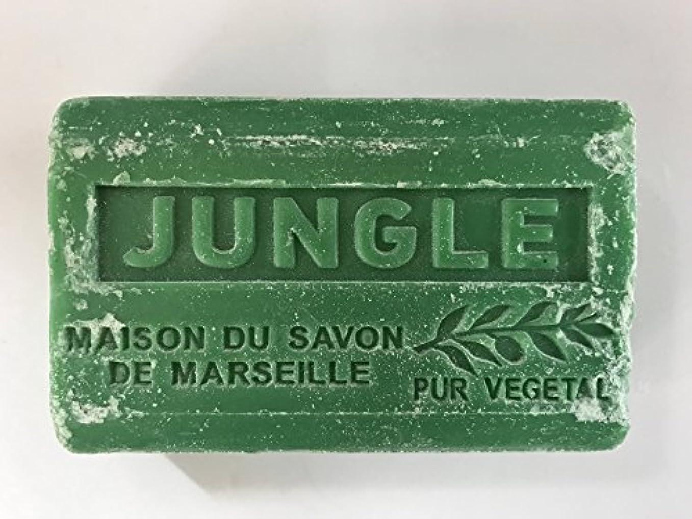 原稿特権的約Savon de Marseille Soap Jungle Shea Butter 125g