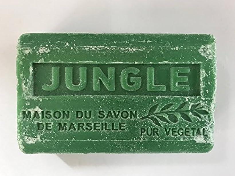 中級擁する悲惨なSavon de Marseille Soap Jungle Shea Butter 125g